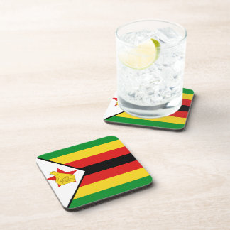Zimbabwe Flag Coaster