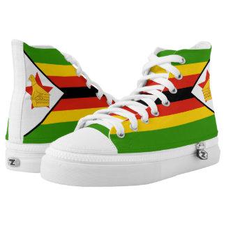 Zimbabwe Flag High Tops