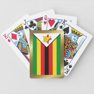 Zimbabwe Flag Playing Cards
