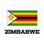 Zimbabwe Flag Post Card