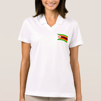 Zimbabwe Flag Set Polo T-shirt