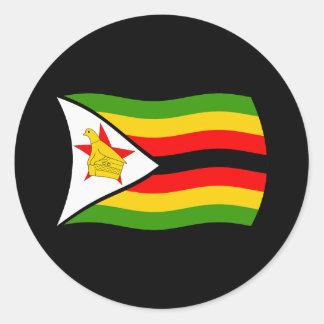 Zimbabwe Flag Sticker