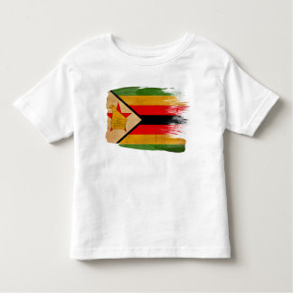 Zimbabwe Flag Toddler T-Shirt