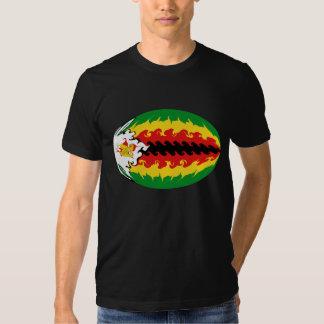 Zimbabwe Gnarly Flag T-Shirt