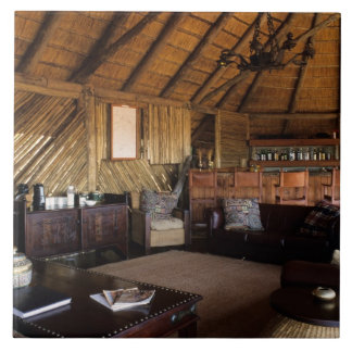 Zimbabwe, Hwange National Park, Linkwasha lodge. Tile