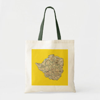 Zimbabwe Map Bag