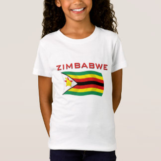 Zimbabwe National Flag (1) T-Shirt