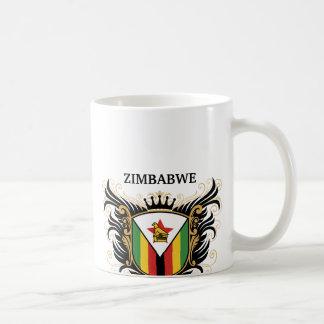 Zimbabwe [personalise] basic white mug