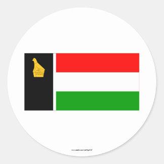 Zimbabwe Rhodesia Flag (1979) Classic Round Sticker