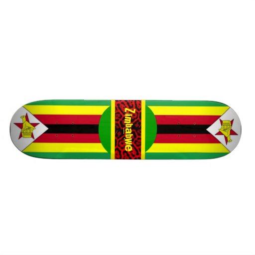 Zimbabwe skateboard