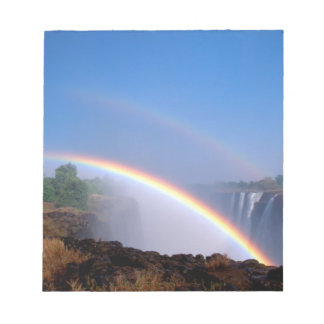 Zimbabwe, Victoria Falls National Park. Double Notepad