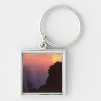 Zimbabwe, Victoria Falls National Park. Misty Key Ring