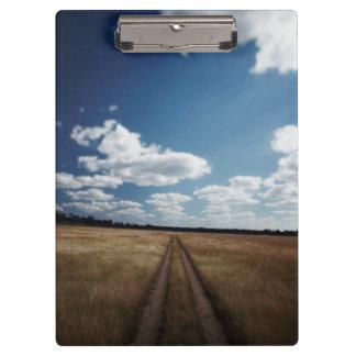 Zimbabwe, View of road near Linkwasha Airstrip 1 Clipboard