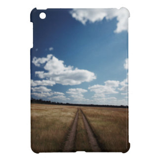 Zimbabwe, View of road near Linkwasha Airstrip 1 iPad Mini Cover