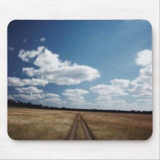 Zimbabwe, View of road near Linkwasha Airstrip 1 Mouse Mat