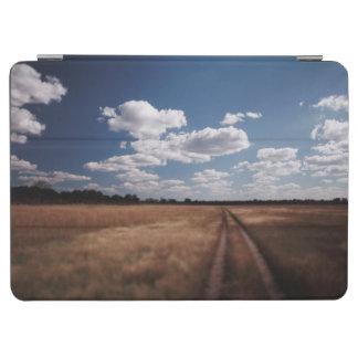 Zimbabwe, View of road near Linkwasha Airstrip 2 iPad Air Cover