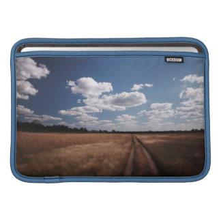 Zimbabwe, View of road near Linkwasha Airstrip 2 Sleeve For MacBook Air