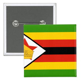 Zimbabwe Zimbabwe Pinback Button
