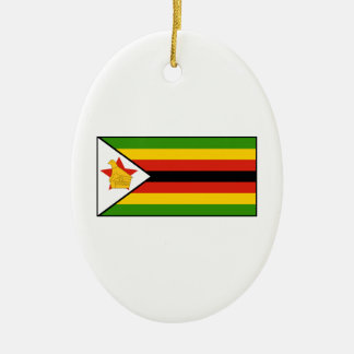 Zimbabwe – Zimbabwean Flag Ornaments