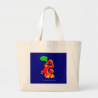 """ZIMKA BB """"You Deserve the Best of Everything"""" Tote Jumbo Tote Bag"""