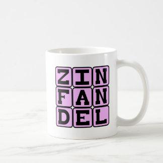 Zinfandel, Type of White Wine Mugs