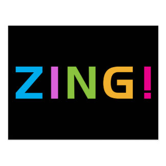 ZING ! POSTCARD