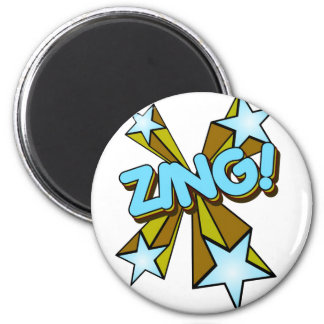 Zing, Zap, Pow!!! Magnet