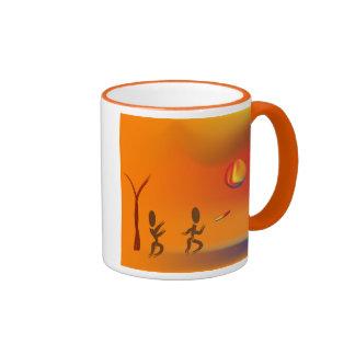 Zinglees ~ Disk Chase Ringer Mug