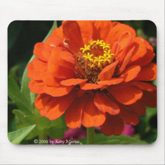 Zinnia Mouse Pad