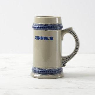 ZINNIE'S BEER MUG