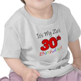 Zio s 30th Birthday Tshirts