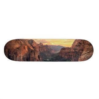 Zion Canyon National Park 21.3 Cm Mini Skateboard Deck