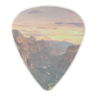 Zion Canyon National Park Acetal Guitar Pick