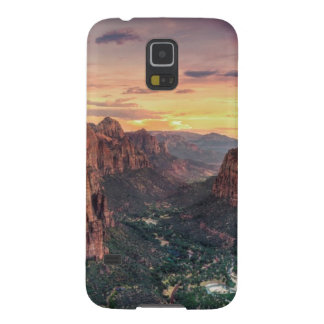 Zion Canyon National Park Galaxy S5 Covers