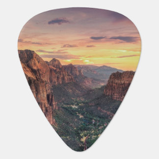 Zion Canyon National Park Guitar Pick