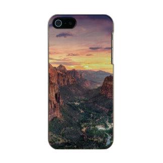 Zion Canyon National Park Incipio Feather® Shine iPhone 5 Case