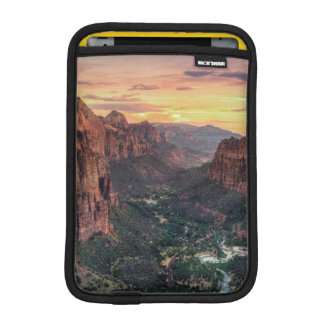Zion Canyon National Park iPad Mini Sleeve