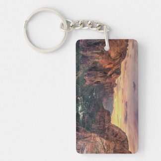 Zion Canyon National Park Key Ring