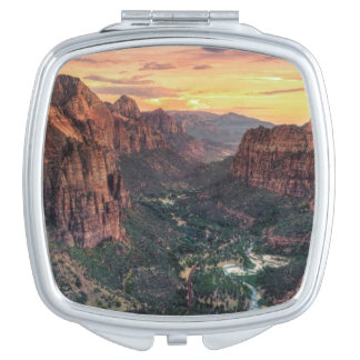 Zion Canyon National Park Makeup Mirror
