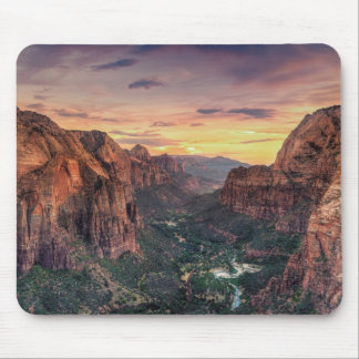 Zion Canyon National Park Mouse Pad