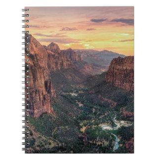 Zion Canyon National Park Notebooks