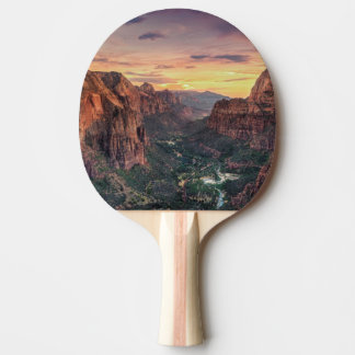 Zion Canyon National Park Ping Pong Paddle