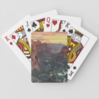 Zion Canyon National Park Playing Cards