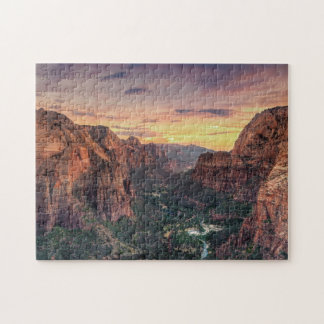 Zion Canyon National Park Jigsaw Puzzles
