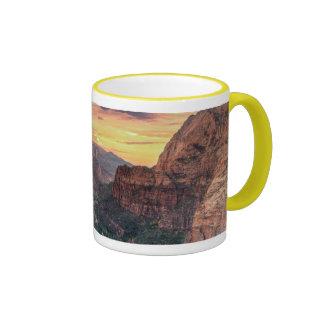 Zion Canyon National Park Ringer Mug