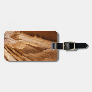 Zion Canyon Wall II Red Rock Abstract Photography Luggage Tag