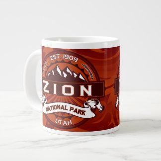 Zion Jumbo Crimson Jumbo Mug