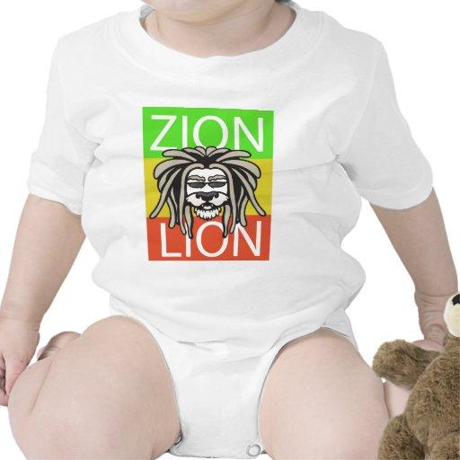ZION LION TSHIRTS