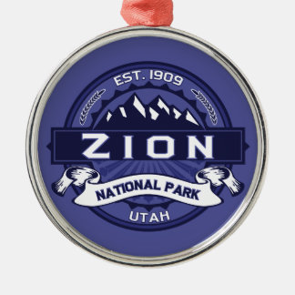 Zion Midnight Christmas Ornament