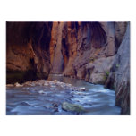 Zion Narrows National Park Poster